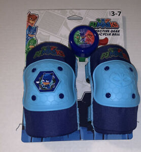 PJ Mask Protective gear and bicycle bell knee pads elbow pads Ages 3-7