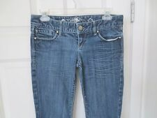 Express Jeans  Straight  Medium Distressed Finish   Size 2   #W24