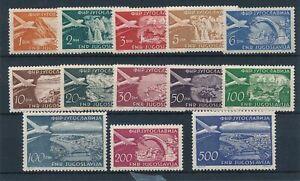 [52128] Yugoslavia Airmail good set MNH Very Fine stamps $125