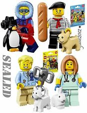 LEGO Minifigures Series 17 71018 Connoisseur Vet 71013 Dog Show Photographer