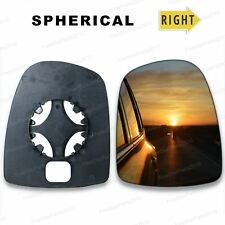 Right Driver side wing mirror glass for Vauxhall Vivaro 2001-2014