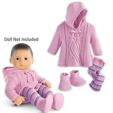 American Girl BITTY BABY  SNUGGLY SWEATER OUTFIT IN BOX for Dolls Clothes NEW
