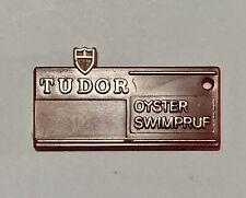 ROLEX TUDOR Tag cartellino Submariner acciaio vintage