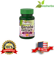 BANABA LEAF EXTRACT 100mg Control Blood Sugar HEALTHY METABOLISM SUPPLEMENT 90ct