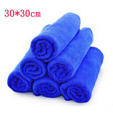 2PC 30*30cm Absorbent Wash Cloth Car Auto Care Microfiber Cleaning Towel Cloth