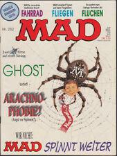 MAD Heft Nr. 262: Filmparodie GHOST + ARACHNOPHOBIA (Williams 1967-95) Z 1-