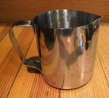 PIC Milk Frothing Pitcher Creamer Stnls. Steel 20 Oz. Espresso Cappuccino Latte