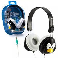 Penguin KaZoo MyPhones Kids Volume-Limiting Headphones Fun Animal
