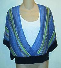 Jones New York  NWT $99 Kimono Sleeve  Layered  Look Top PM