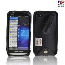 Blackberry Z30 Turtleback E Black Leather Case