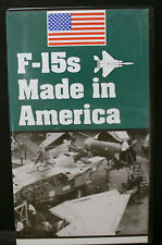 1 RARE VHS VIDEO, F-15s MADE IN AMERICA, F-15, SALE TO SAUDI ARABIA