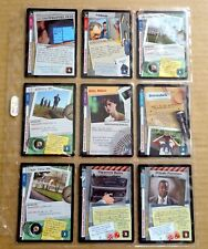 THE X-FILES PREMIERE EDITION CCG/TCG SLEEVE OF 9 x COMMON CARDS  NEW/1996