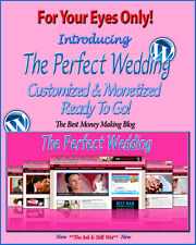 Wedding Blog Self Updating Website - Clickbank Amazon Adsense Video & News Pages