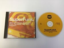 SuperFunk 4: Rare And Classic Street Funk From The Vaults 1966-1973 CD - MINT