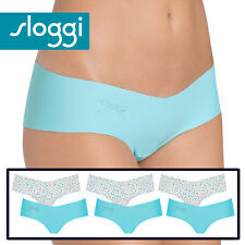 ** 6 Pack **  Size Large Sloggi Touch It Microfibre Hipster Briefs Laguna Multi