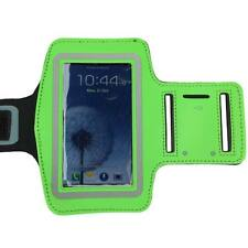 Green Sports Running Gym Armband Arm Band Case for Samsung Galaxy S5 S4 S3 S2