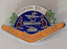 Woonona Bulli RSL Bowling Club Badge Rare Vintage (M5)