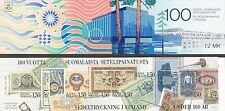 Finland 1985 MNH Booklet - Finnish Bank Notes 100 Years - Scott 706