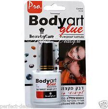Transparent Body Art Glue Professional Waterproof Eyelashes Tattoo 15 ml 0.5 oz