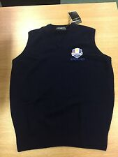 RYDER CUP 2012 MIRACLE AT MEDINAH JUMPER VEST AS WORN BY PLAYERS OF TEAM EUROPE