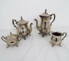 Vintage Silver plated Tea & coffee set - 4 Piece set
