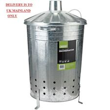 Draper metal Galvanised Garden Waste Incinerator - 85L 53253 BARGAIN ONLY £17.51