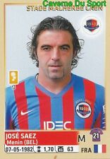 064 JOSE SAEZ FRANCE SM.CAEN STICKER FOOTBALL 2015 PANINI ~
