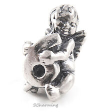 Authentic Trollbeads Silver Cherub Number 6   11322-06 List $56