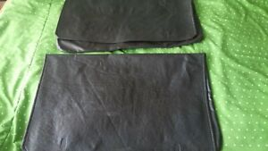 1984-1988 Nissan 300zx  Z31 T-top covers pouch oem used black x 2