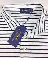 Polo Ralph Lauren Men's Polo Shirt Stripe Short Sleeve NEW 100% Cotton Size: XL