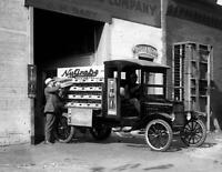 "1924 NuGrape Company Delivery Truck Vintage Photograph 8.5"" x 11"" Reprint"