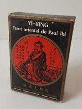 YI-KING Tarot oriental de Paul IKI cartomancie GRIMAUD 1981 vintage  tarot card