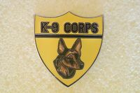 US USA Army K-9 Corps Military Hat Lapel Pin