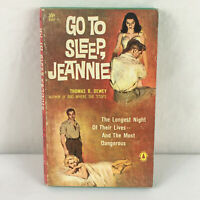 Go to sleep, Jeannie by Thomas B. Dewey 176 pages 1959 First Ed Paperback