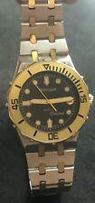 Chronosport Oceanus Diver Watch Swiss Wristwatch Two Tone Gold Stainless Steel