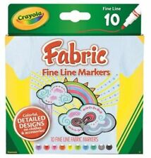 Crayola Fine Line Markers Assorted Colors