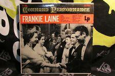 Frankie Laine, Command Performance Vinyl LP Columbia Records CL 625 G+ G+ Vocal