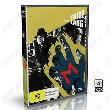 M (1931) : A Film by Fritz Lang : Original Movie, German with English Subtitles