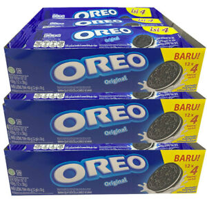 36x 4PK 38g Oreo Snack Pack Vanilla Original Cookies/Biscuits/Sweets/Chocolate