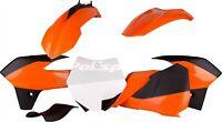 Polisport - 90555 - Orange Plastics Kit For KTM 85 SX 2012-2017