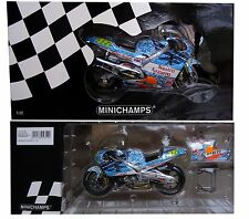 MINICHAMPS 1/12 ROSSI HONDA HRC MUGELLO 2001 ORIGINAL EDITION 122016196 NO DIRTY