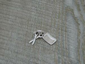 100% Genuine Links of London Solid Sterling Comb & Scissors Charm