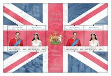 Micronesia- Royal Wedding Prince William And Kate Middleton Stamp Sheet of 4 MNH