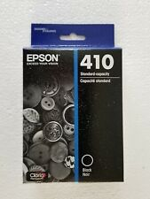 Epson Claria Model 410 Black Standard Capacity Ink Cartridge Exp. 8/2019 T410020