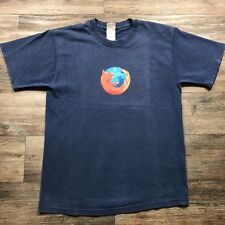 Rare VTG Mozilla Firefox Men's T-Shirt sz M A75
