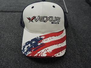 Vexus boats PATRIOTIC hat cap bass fishing