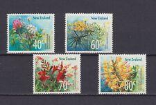 34624) New Zealand MNH Neu 1989 Wild Flowers 4v