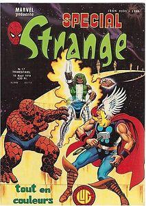 COMICS : SPECIAL STRANGE n° 17 marvel lug 10 aout 1979