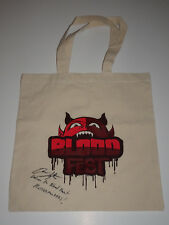 ROOSTER TEETH BLOODFEST OWEN EGERTON SIGNED AUTOGRAPHED PROMO SXSW BAG