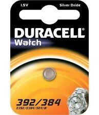 3 Duracell 392 384 AG3 LR41 SR41W 1.5v Silver Oxide